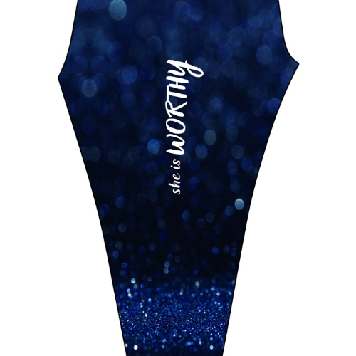 Empowerment Pants by Mellymoo   She is Worthy Navy