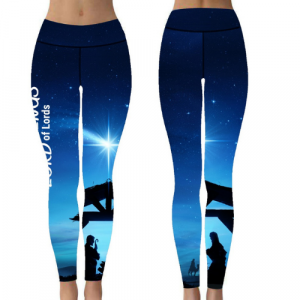 Empowerment Pants by Mellymoo | Nativity Christmas Leggings